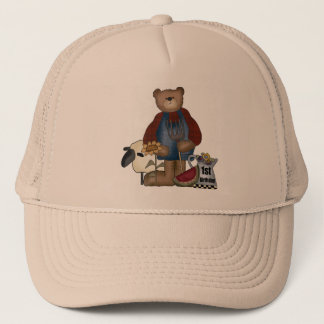 Teddy Bear 1st Birthday Trucker Hat