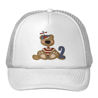 Teddy Bear 2nd Birthday Mesh Hat