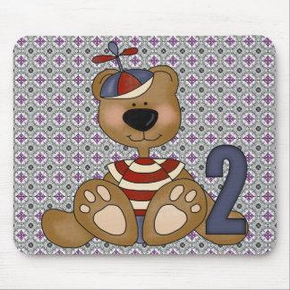 Teddy Bear 2nd Birthday Mouse Pad