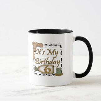 Teddy Bear 6th Birthday Gifts Mug