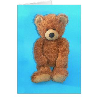 Teddy Bear - Albert Card