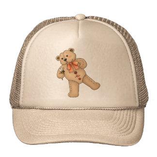 Teddy Bear and Bee Trucker Hat