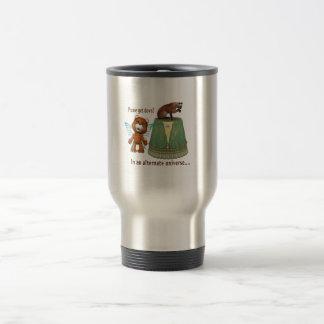 teddy bear asking siamese off table txt alternate mug