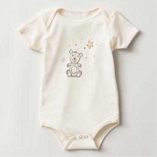 Teddy Bear Baby Baby Bodysuit
