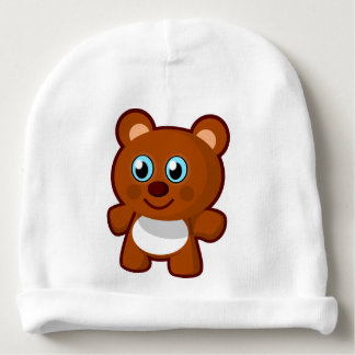 Teddy Bear Baby Beanie
