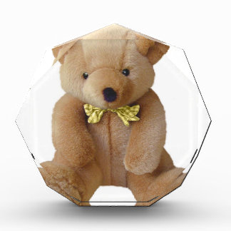 Teddy Bear  Baby Expecting Pregnancy Shower Love Acrylic Award