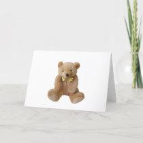 Teddy Bear  Baby Expecting Pregnancy Shower Love Invitation