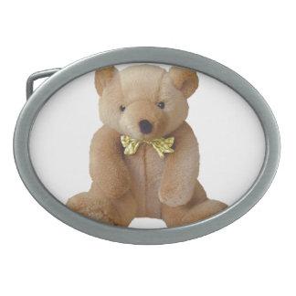Teddy Bear  Baby Expecting Pregnancy Shower Love Oval Belt Buckle