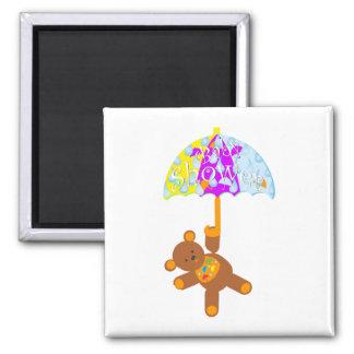 Teddy Bear Baby Shower Magnet