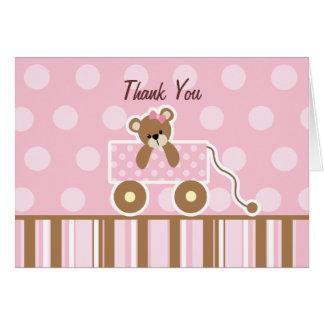 Teddy Bear Baby Shower Thank You Card