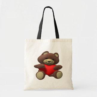 Teddy Bear Budget Tote Bag