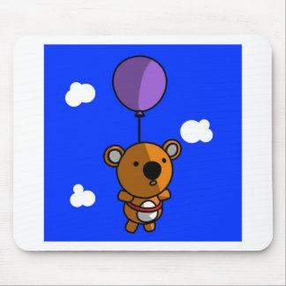 Teddy Bear Balloon Mouse Pad