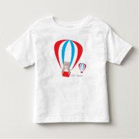 Teddy Bear Balloon Toddler Tee