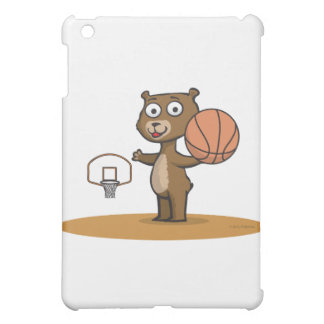 Teddy Bear Basketball iPad Mini Covers