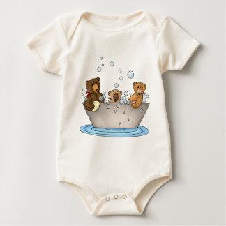 Teddy Bear Bathtime Creeper