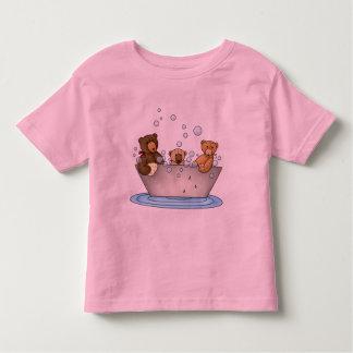 Teddy Bear Bathtime Toddler T-shirt