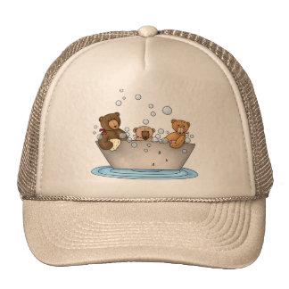 Teddy Bear Bathtime Trucker Hat