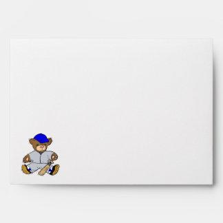 Teddy Bear Batter Envelope