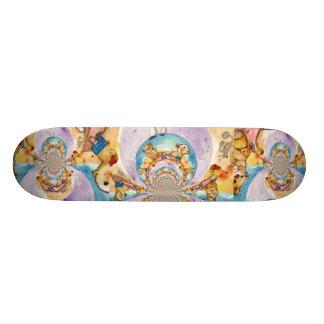 Teddy Bear Beach Picnic Skateboard