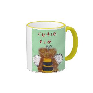 TEDDY BEAR BEE MUG