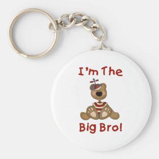 Teddy Bear Big Bro Key Chains