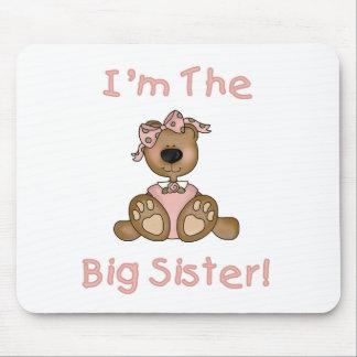Teddy Bear Big Sister Mouse Pad