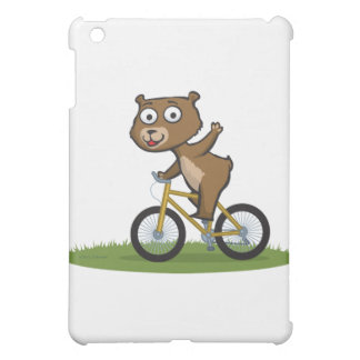 Teddy Bear Biker iPad Mini Cover