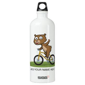 Teddy Bear Biker SIGG Traveler 1.0L Water Bottle