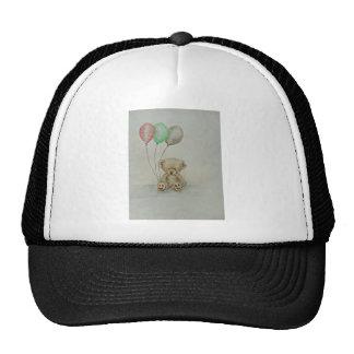 teddy bear birthday trucker hat