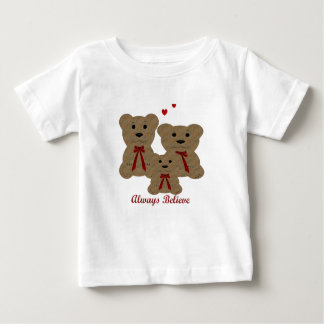 *Teddy Bear Blessing ~ Always Believe Baby T-Shirt