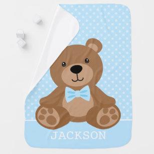 Baby Girl Blanket-Teddy Bear Personalized baby blanket-Bear Minky blanket-Boy Girl Minky Teddy Bear Blanket-Bear Girl Blanket-Bear Nursery