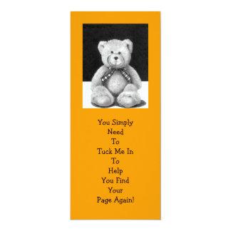 Teddy Bear BOOK MARK: Pencil Artwork Card