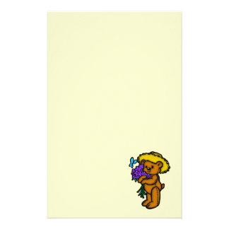 Teddy Bear Bouquet Stationery
