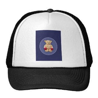 Teddy Bear Boxer Trucker Hat