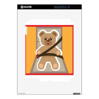 Teddy Bear buckle Up Skins For The iPad 2