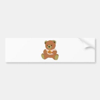 Teddy Bear Bumper Sticker