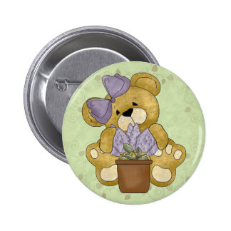Teddy Bear 2 Inch Round Button
