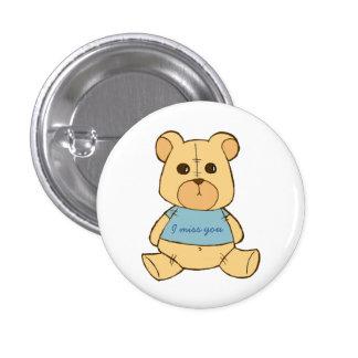 Teddy bear pinback buttons