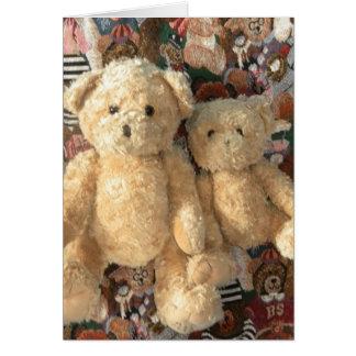 Teddy Bear - Candy and Crystal Card