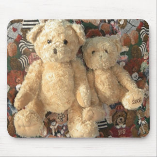 Teddy Bear - Candy and Crystal Mouse Pad