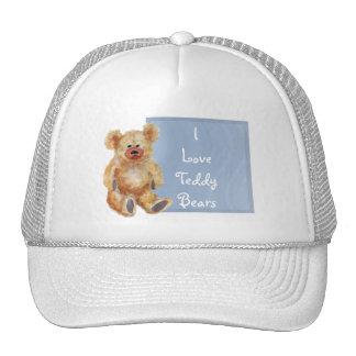 Teddy Bear Cap Trucker Hat