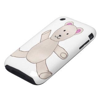 Teddy Bear Case iPhone 3 Tough Cases