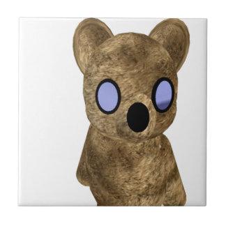 Teddy bear ceramic tile