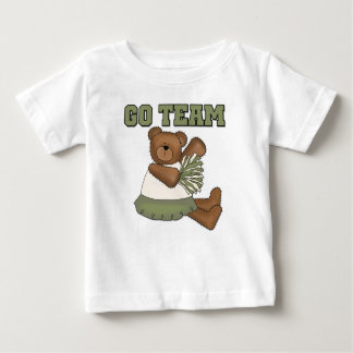 Teddy Bear Cheerleader Green T-shirts and Gifts