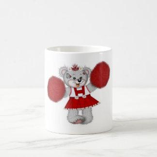 Teddy Bear Cheerleader Coffee Mugs