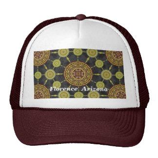 Teddy Bear Cholla Cactus Mandala Array Hat