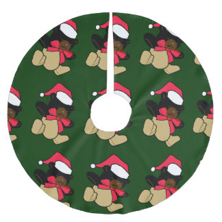 Teddy Bear Christmas Tree Skirt