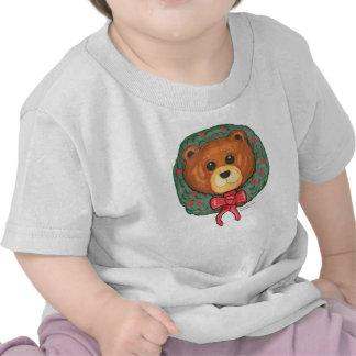 Teddy Bear Christmas Wreath shirt