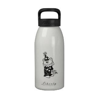 Teddy Bear Clown Reusable Water Bottle