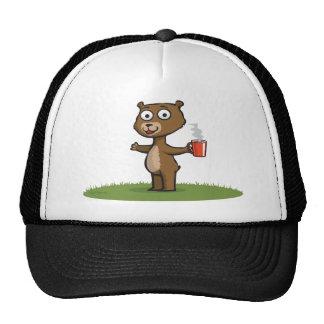Teddy Bear Coffee Trucker Hat
